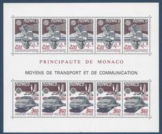 Monaco CEPT 1988 Yvertn° Bloc 41 *** MNH  Cote 31 Euro Europa Transport - Blocs