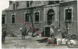 80 / Combles / Katakomben /allemande Carte Photo -1914-1918 WWI - Francia
