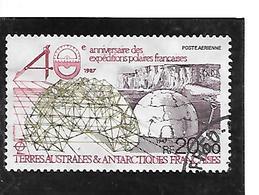 TIMBRE OBLITERE DES TERRES AUSTRALES TAAF DE 1988 N° YVERT PA 102 - Usados