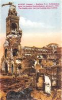 Albert (80) - Basilique N.-D. De Brebières Après Les Premiers Bombardements Allemands - Albert
