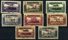 Alexandrette (aéreos) Nº 1/8. Año 1938 - Siria