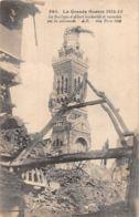 Albert (80) - La Basilique Bombardée Et Incendiée Par Les Allemands - Albert