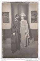 CARTE PHOTO STUDIO RENOUARD POITIERS THÉÂTRE DÉGUISEMENT COUPLE RENAISSANCE - THEATER COSTUME DISGUISE - Theatre, Fancy Dresses & Costumes