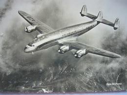 Avion / Airplane / Air France / Lockheed Constellation / Registered As F-BAZB - 1946-....: Era Moderna