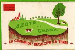 Buvard & Blotting Paper : La Cianamide Recalcifie La Terre - Agriculture