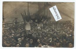 Réunion De Militaires Anglais Sur Carte-photo - Guerre 1914-18
