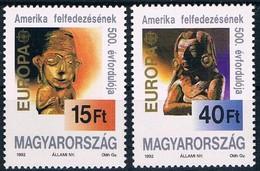Hongrie Hongarije Ungarn 1992  Yvertn° 3370-3371 *** MNH Cote 6 € CEPT Europa Colombus - Europa-CEPT