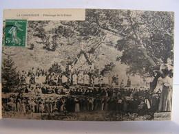 CPA 48 LOZERE LA CANOURGUE PELERINAGE DE SAINT FREZAL 324 - Francia