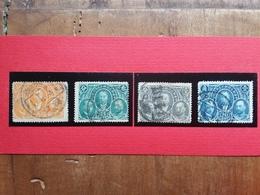 CINA 1921 - 25° Anniversario Poste - Serie Completa Timbrata + Spese Postali - China