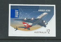 Australia 2008 Airbus Plane Peel & Stick Single MNH - 2000-09 Elizabeth II