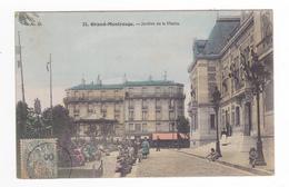 92 Grand Montrouge N°23 Jardins De La Mairie En 1906 Kiosque VOIR ZOOM Enfants Dentiste Teinture & Nettoyage - Montrouge