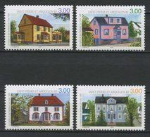 SPM Miquelon 1998  N° 676/679 ** Neufs MNH Superbes C 6 € Maisons Houses Et Son Tambour Ferme - St.Pedro Y Miquelon