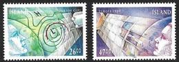 Islande Iceland Ijsland 1991 Yvertn° 695-696 *** MNH Cote 10 Euro Europa Cept - Europa-CEPT