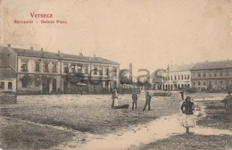 Serbia - Versecz - Baross Platz - Serbien