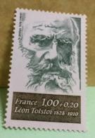 France (Léon Tolstoi) 1978 - Neuf (Y&T N°1989) - Coté 0,80€ - France