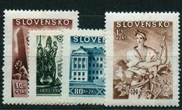 Slovakia 1943 Michel: 128-131 ** MNH - Ungebraucht