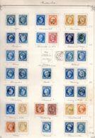 MANCHE Collec. Complète (-5 T.) Pc Et GC Et Rempl. AL Cote Pothion (s.lettre) 12310 Eu Signés Mathieu - Marcophily (detached Stamps)