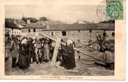 Saint-Agrève: Pesage Des Veaux - Saint Agrève