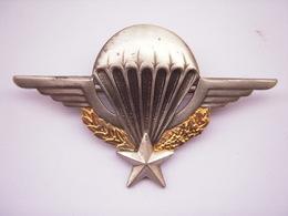 Insigne Brevet Parachutiste GS 1185  Drago Noisiel - Armée De Terre