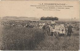 CPA   TRACTEUR  LA CHAMPENOISE  SYSTEME LINARD HUBERT   TTB - Tracteurs