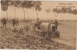 CPA   TRACTEUR  A CHENILLE CITROEN - Tractors