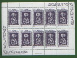 Vaticano 1997 S.Adalberto Minifoglio Da 10 Sass.1084 **/MNH VF - Blokken & Velletjes