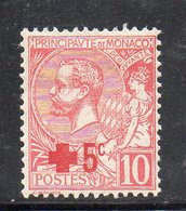 Y2123 - MONACO 1914 , N. 26 Linguellato . Croce Rossa Red - Monaco