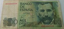 Billet Espagne Pesetas Madrid 23 De Octubre De 1979 - N° 4S5866710 Billet De 1000 Pesetas De Colletion - - Spagna