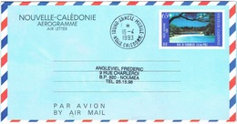 Nouvelle Caledonie New Caledonia Postal Stationery Pret A Poster Cachet Date Touho Annexe Mobile 1983 BE Rare - Nouvelle-Calédonie