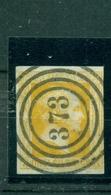 Preussen, Friedrich Wilhelm IV. Nr. 8 A Gestempelt Nr. 373, BPPgeprüft - Preussen (Prussia)