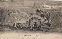 CPA  TRACTEUR PERRUSSEL - Tractores