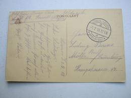 1918 , Liege, Lüttich  Carte  Postale  Militaire Allemagne - WW I