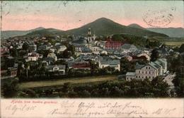 ! 1905 Alte Ansichtskarte Haida , Novy Bor - República Checa