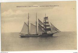 CPA 50 GRANVILLE La Leonne Partant Pour Terre Neuve Rare - Granville