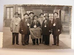 CPA 58 NIEVRE CLAMECY CARTE PHOTO LES PHILANTHROPES DE LA GIGOUILLETTE 365 - Clamecy