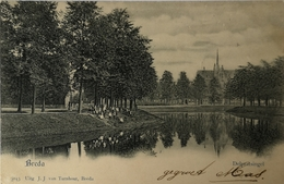 Breda // Delpratsingel // 190? Uitg. J. J. Van Turnhout - Breda