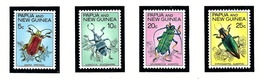 Papua New Guinea 237-40 MNH 1967 Beetles - Guinea (1958-...)
