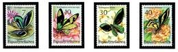 Papua New Guinea 415-18 MNH 1975 Butterflies - Guinea (1958-...)