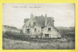 * De Panne - La Panne (Kust - Littoral) * (La Phototypie Belge) In De Klok, Cabaret Artistique, Dunes, Café, Old, CPA - De Panne