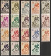 A.O.F. N° 4 - 22 ** - Unused Stamps