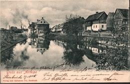 ! 1905 Alte Ansichtskarte Gruss Aus Altleipa , Stara Lípa - Tchéquie