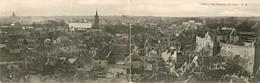 Caen    Carte Double Panoramique....voir 2 Scans - Caen