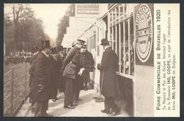 +++ CPA - Foire Commerciale De BRUXELLES 1920 - BRUSSEL - Le Roi...Brasserie IND, COOPE...Bières ... // - Feesten En Evenementen
