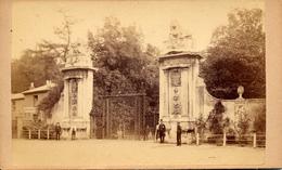 CDV, Richmond, A&E Seeley, Entrance To The Park - Old (before 1900)