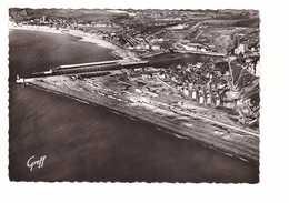 76 Le Treport Mers Plage Bassins Chenal Phare Mers Et Ses Plages CPSM GF - Le Treport
