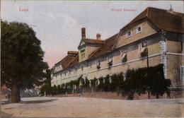 ! 1910 Alte Ansichtskarte Aus Leipa In Böhmen, Bürgerliches Brauhaus - Tchéquie