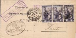 (St.Post.).Repubblica.1955.Modulo A Stampa A Tariffa Ridotta.3 Lire Anziché 2,50 (114-19) - 6. 1946-.. Republik