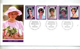Lettre Fdc 1998 Princesse Diana - FDC