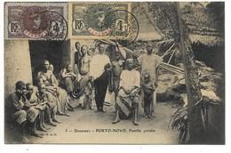 PORTO-NOVO-Famille Yoruba...1908  Animé - Dahomey