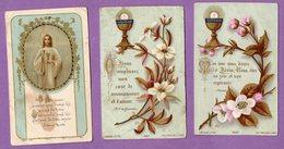 Image Pieuse Communion Eglise De Monts 10.08.1890 Et 28.06.1921 - - Religion & Esotérisme
